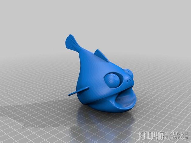 小鱼LeFishy 装饰品 3D模型  图2