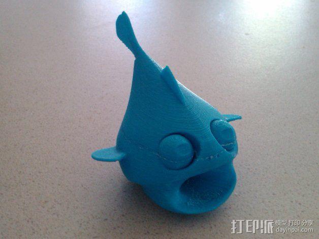 小鱼LeFishy 装饰品 3D模型  图3