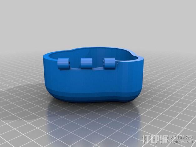 心形小盒 3D模型  图3