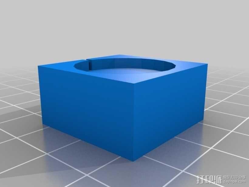蘑菇云灯 底座 3D模型  图4