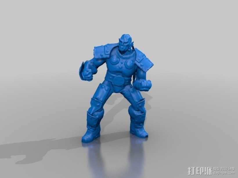 Thrall  人偶 3D模型  图1