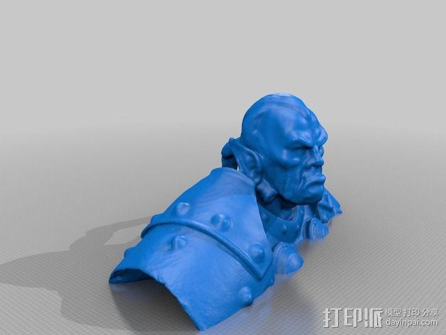 Thrall  人偶 3D模型  图2