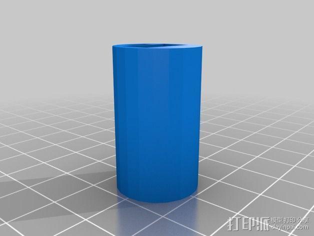 阴阳八卦图 标志 3D模型  图4