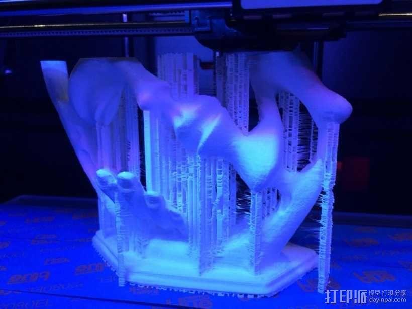 墨西哥人 雕塑 3D模型  图2