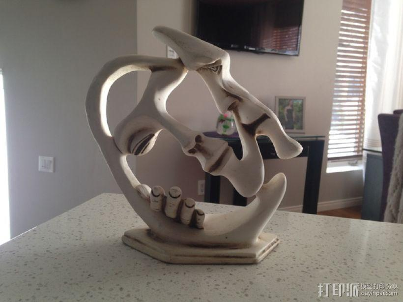 墨西哥人 雕塑 3D模型  图5