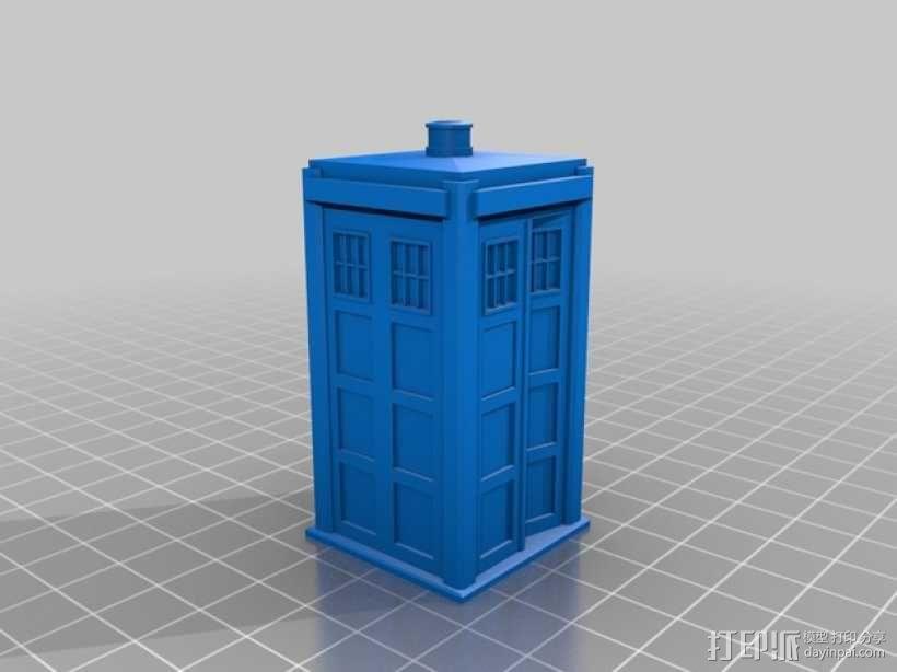 塔迪斯 盐瓶 3D模型  图3