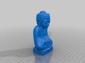 佛陀 3D模型