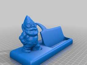 精灵 名片架 3D模型