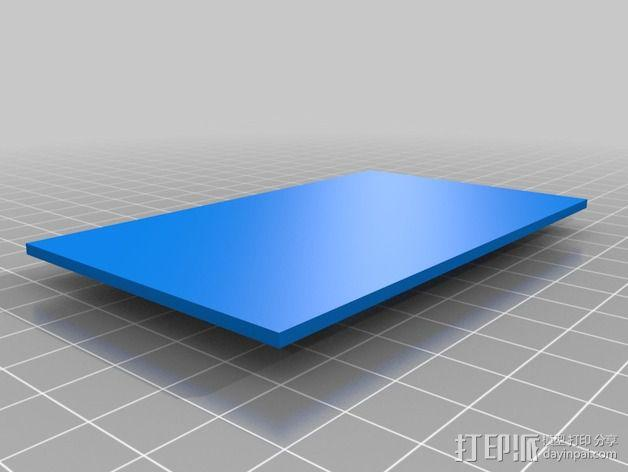 画架 3D模型  图2