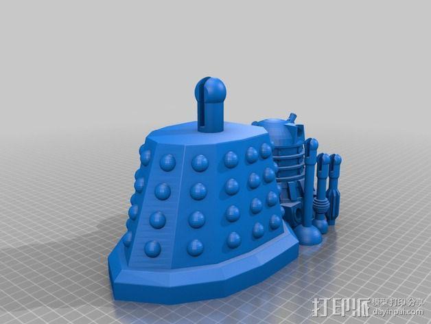 戴立克 3D模型  图1