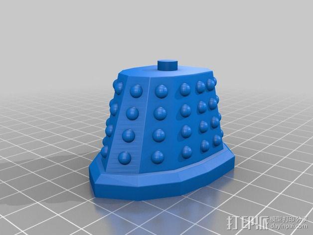 戴立克 3D模型  图7