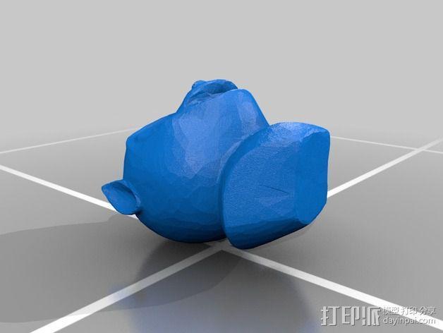 7个圆明园十二生肖 3D模型  图2