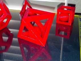 多边形 小球 3D模型