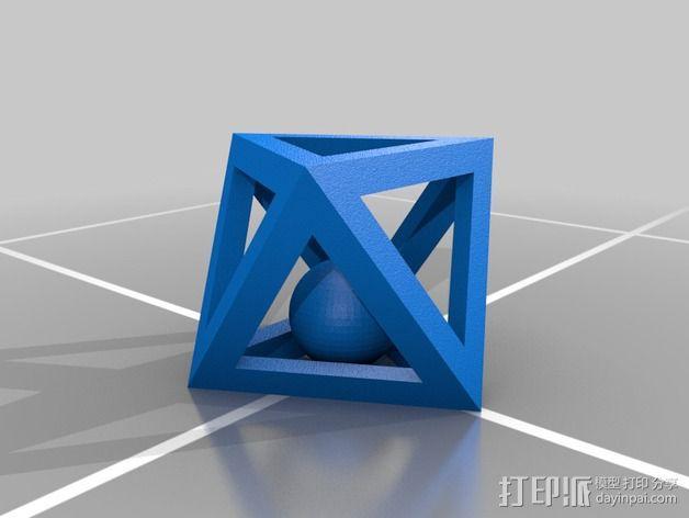 多边形 小球 3D模型  图2