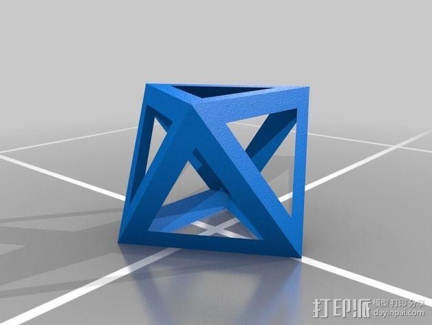 多边形 小球 3D模型  图4