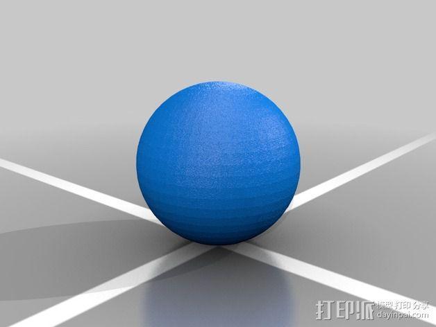 多边形 小球 3D模型  图3