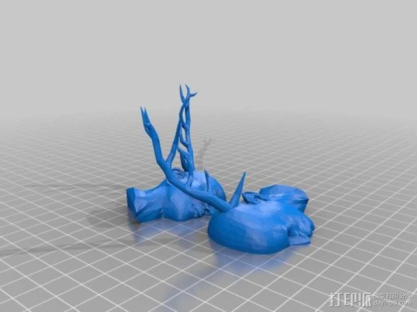 温迪哥 食人鬼 3D模型  图1