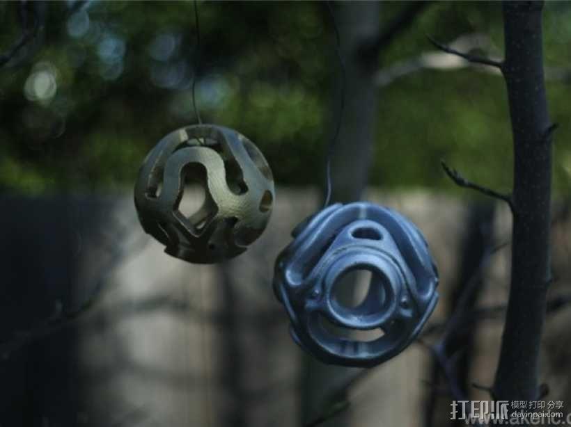 镂空小球 Orbus 3D模型  图1