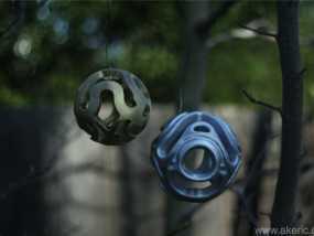 镂空小球 Orbus 3D模型