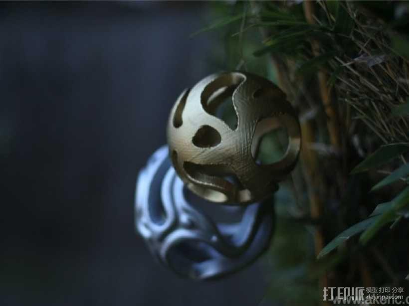 镂空小球 Orbus 3D模型  图3