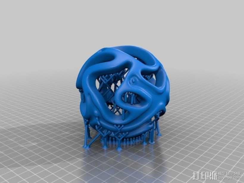 镂空小球 Orbus 3D模型  图7