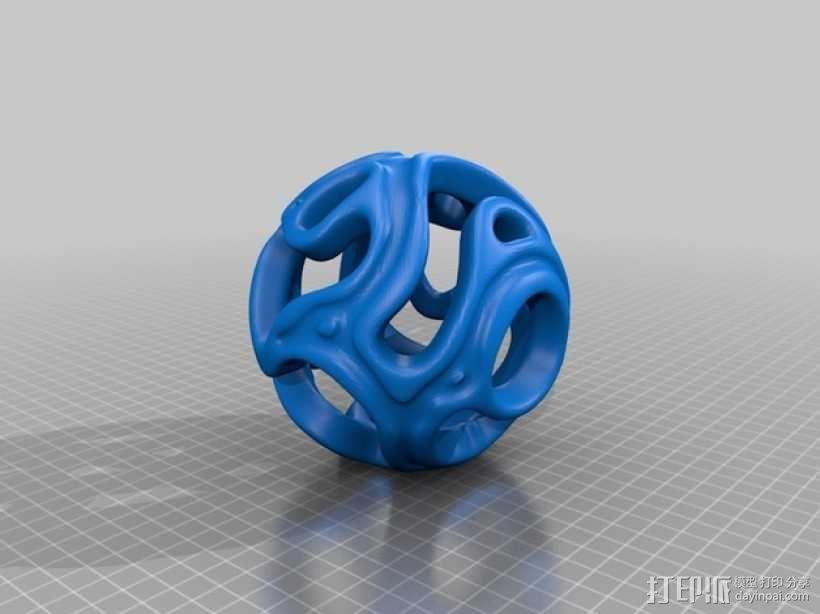 镂空小球 Orbus 3D模型  图8