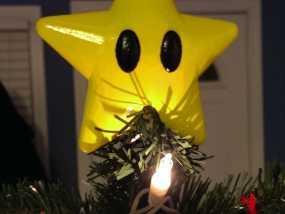 星星 圣诞树顶部装饰  3D模型