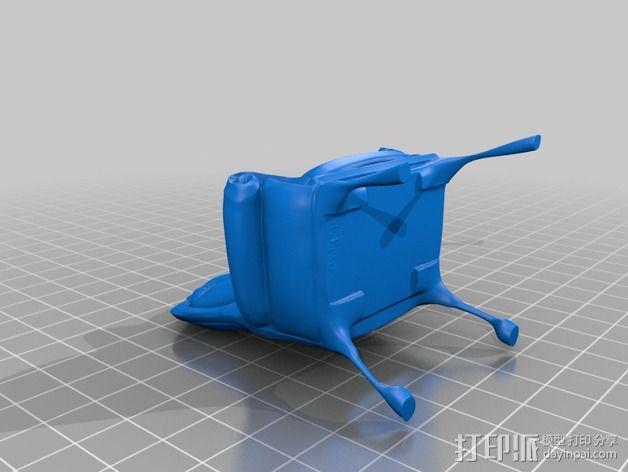 沙发椅 3D模型  图2