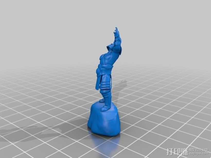 游戏《激战(GuildWars2)》人物 3D模型  图3