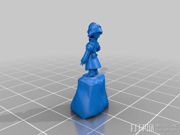 游戏《激战(GuildWars2)》人物Snaff 3D模型  图2