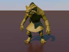 游戏《激战(GuildWars2)》人物 Bronko Grimmflamm 3D模型