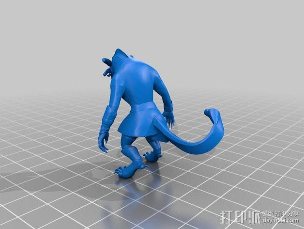 游戏《激战(GuildWars2)》人物 Bronko Grimmflamm 3D模型  图2