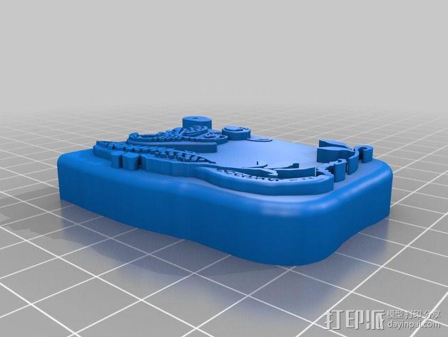 火柴盒 3D模型  图2