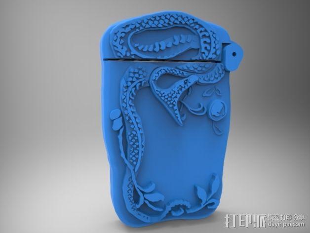 火柴盒 3D模型  图4