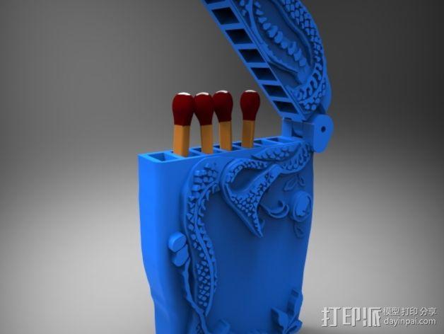 火柴盒 3D模型  图6