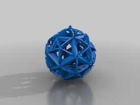 RCS 镂空装饰品 3D模型