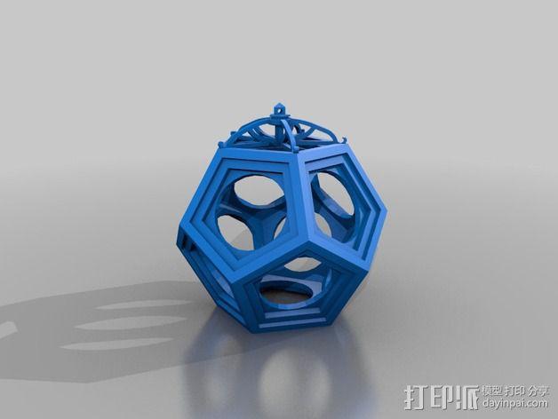 RCS 镂空装饰品 3D模型  图4