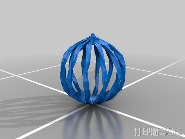 RCS 镂空装饰品 3D模型  图6