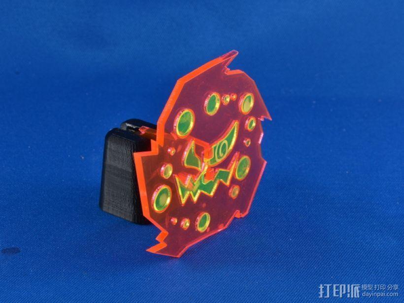 神奇宝贝:花岩怪 3D模型  图11