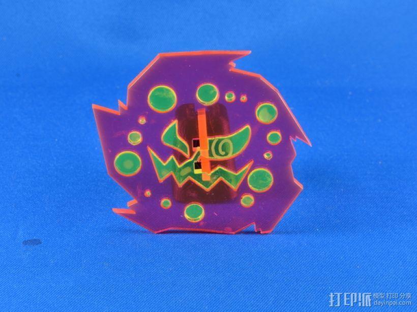 神奇宝贝:花岩怪 3D模型  图10