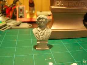 贝多芬 头像 3D模型