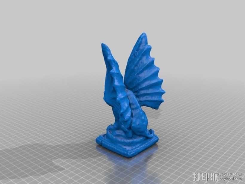 石像鬼 3D模型  图2