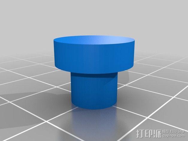 迷你喷泉 3D模型  图3