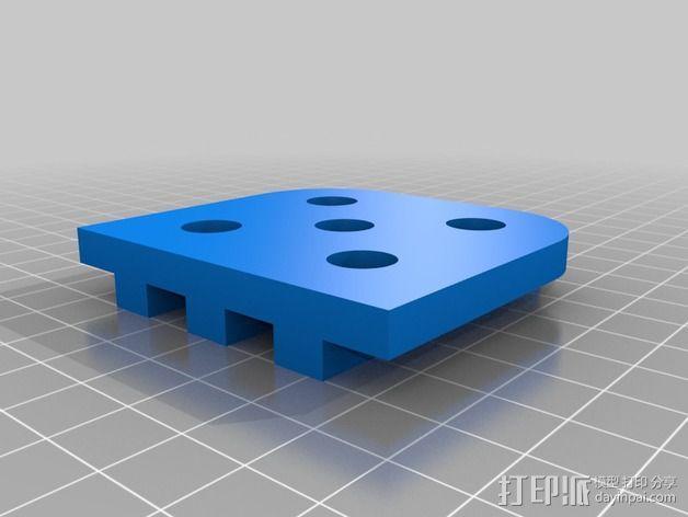 迷你喷泉 3D模型  图4
