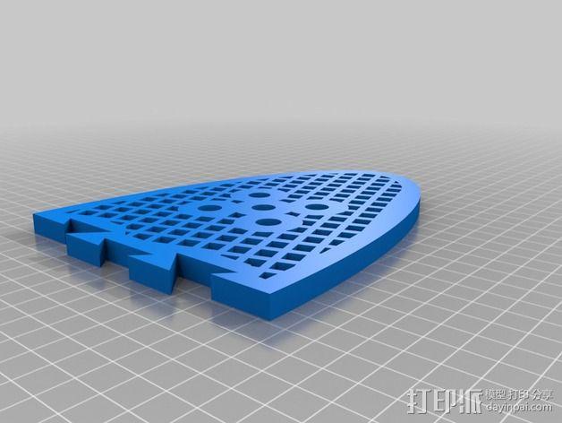 迷你喷泉 3D模型  图5