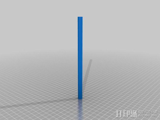 迷你喷泉 3D模型  图10
