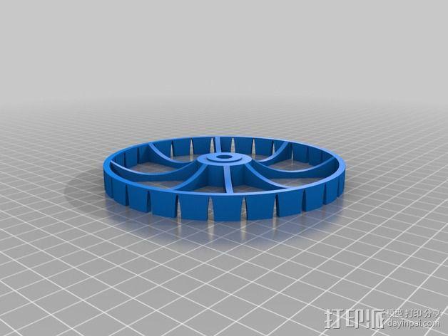迷你喷泉 3D模型  图21