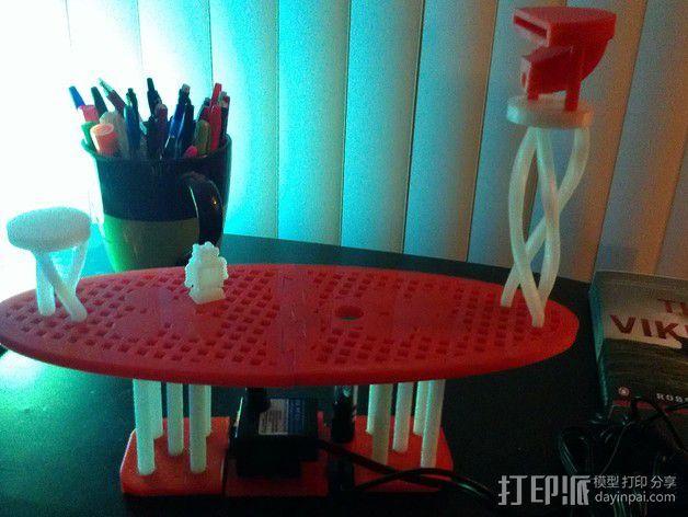 迷你喷泉 3D模型  图22