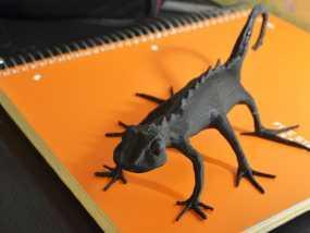 蜥蜴 3D模型