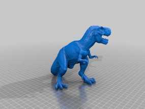 霸王龙 3D模型
